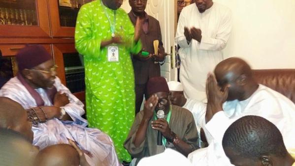 Vidéo-Visite du patron de Rewmi à Tivaouane: Ce que Serigne Abdoul Aziz Al Amine a dit à Idrissa Seck
