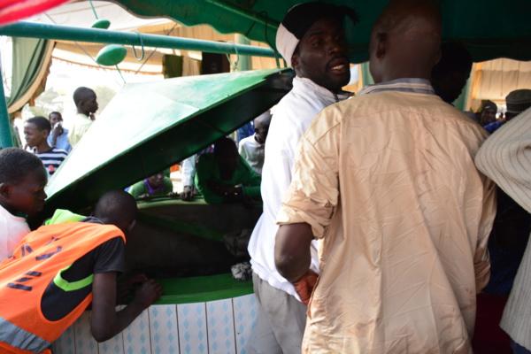 Photos-Médina Baye : La ruée des pèlerins vers le puits de Baye Niasse