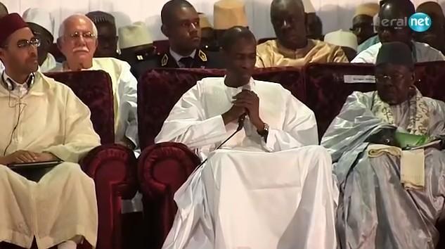 Vidéo-Lutte contre terrorisme: Abdoulaye Daouda Diallo préconise les enseignements d'El Hadj Malick Sy