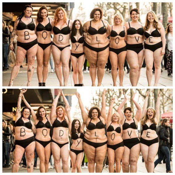Si vous aussi vous pensez que chaque femme doit être fière de son corps, alors cette campagne va énormément vous plaire !