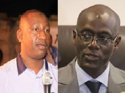 Les émouvantes retrouvailles entre le ministre Thierno Sall et son ex D. C Pape Diallo