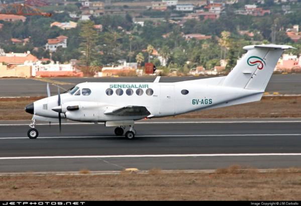L'avion de Sénégal Air volait plus haut que prévu (Rapport)
