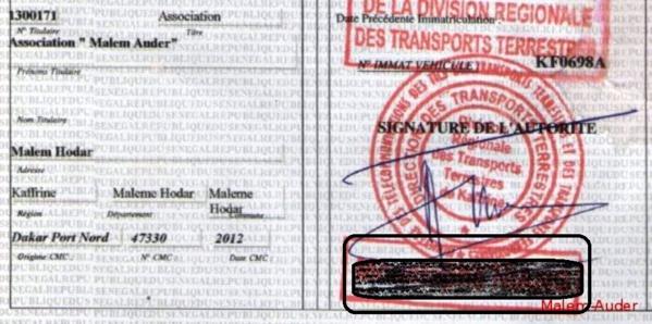Service des Mines : le bureau du Chef de Division des cartes grises cambriolé ( Dakar7.com)