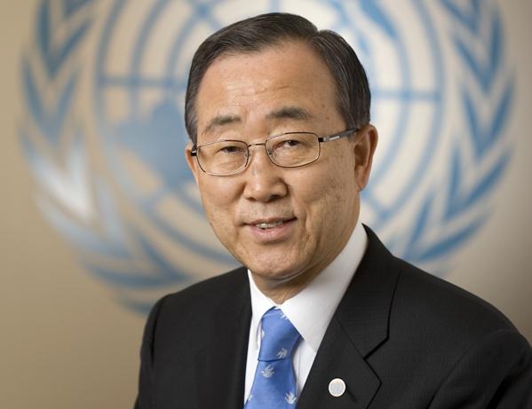 """Ban Ki Moon sur le procès de Hissène Habré : """"C'est une des triomphes de 2015"""""""