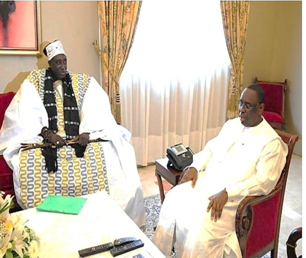 Le Grand Serigne de Dakar, Pape Ibrahima Diagne, nommé Ambassadeur Itinérant auprès du Chef de l'Etat