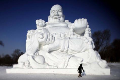 20 sculptures en neige parmi les plus impressionnantes du monde ! Attention les yeux...