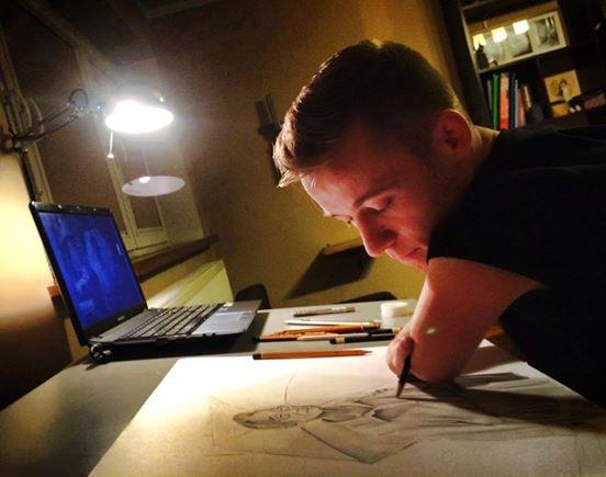Cet artiste né sans mains dessine les portraits les plus réalistes qui soient