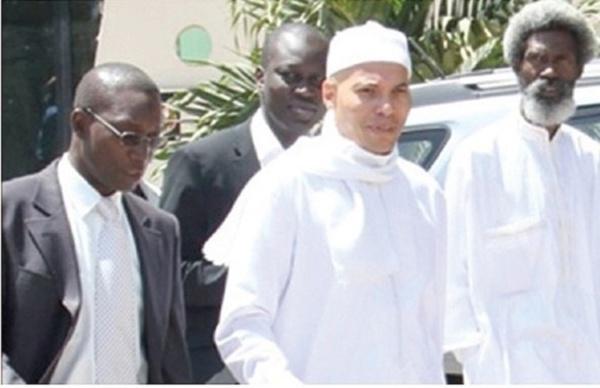 Saisie de ses biens :  Une audience civile sans Karim Wade
