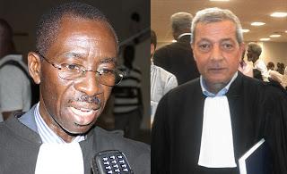 Mes Mbaye Sène (à gauche) et Mounir Ballal