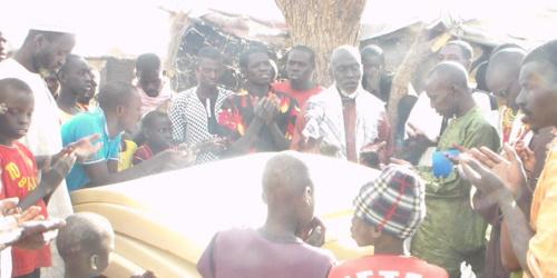 Incendie à Fass Thiékène: Le jeune cadre républicain, Alioune Badara Ly, à la rescousse des victimes