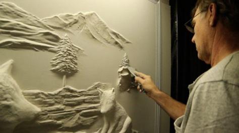 Les œuvres murales de cet artiste sont si impressionnantes que vous n'allez pas en revenir... Sublime !