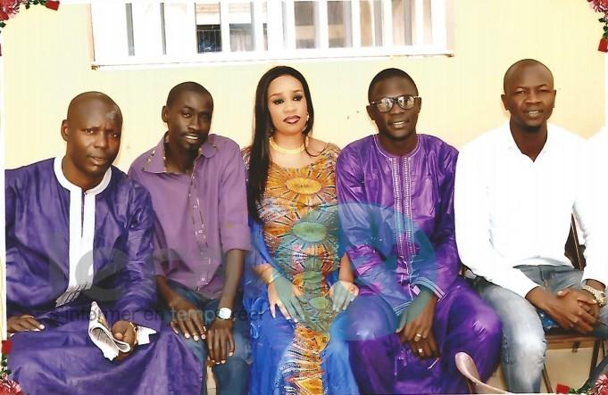 Baptême du fils de Djimmy Mbaye et de son épouse Aïcha