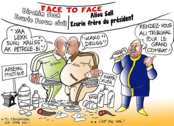 Ce dessin a été produit par Oumar Diakité dit Odia, caricaturiste de presse