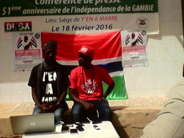 """Ali Cham alias Killa Ace rappeur : """"Yahya Jammeh a confisqué tous les biens des gambiens"""""""