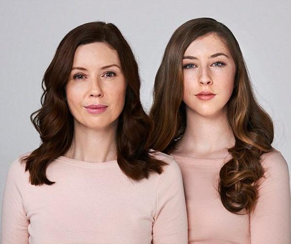 Voici 5 preuves qui montrent que les filles ressemblent de plus en plus à leurs mères en prenant de l'âge