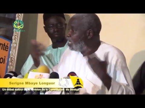 Réaction de Serigne Mbaye Longhor  sur la Caricature (JA), la laïcité et l'homosexualité (Touba demande qu'on retire l'article 15)