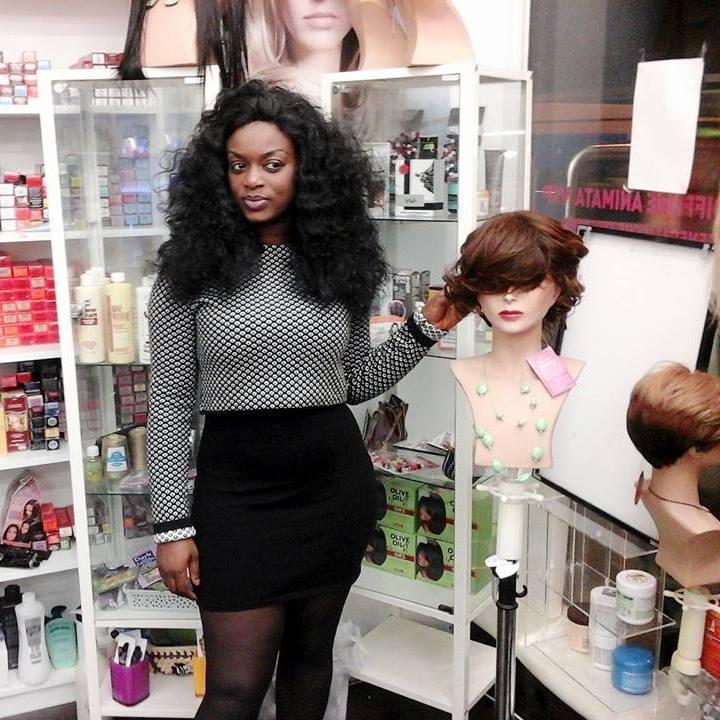 Voici la belle  Aissatou Serena Sy....