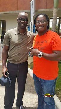 Dj Awadi et l'ancien footballeur Thuram : deux figures qui font la fierté du continent noir