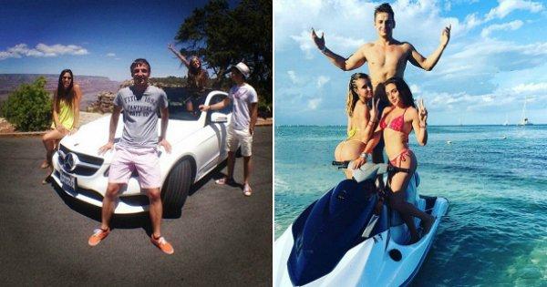 La jeunesse dorée russe se déchaîne sur Instagram, et visiblement, on n'a pas la même valeur de l'argent !