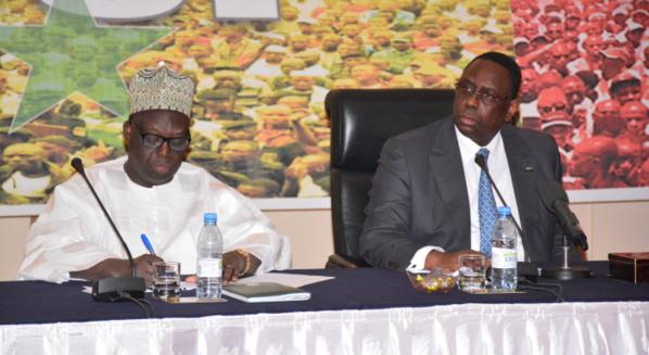 Moustapha Niasse : «nous étions 14 candidats et Dieu a dit que c'est vous Macky Sall qui serez le Président »