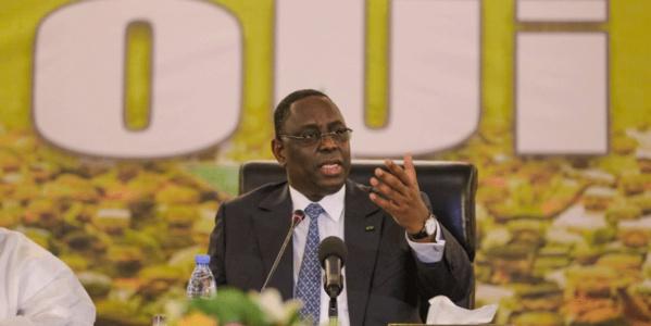 Référendum : Macky Sall convoque le Conseil national de l'Apr