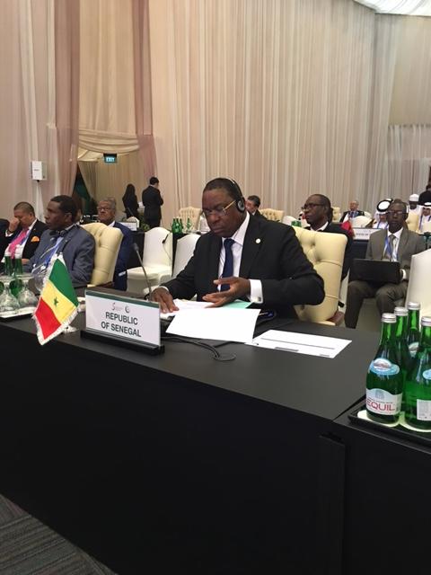 """5ème sommet de l'OCI : """"Le Sénégal abritera cette année une réunion internationale sur Jérusalem"""", selon Mankeur."""