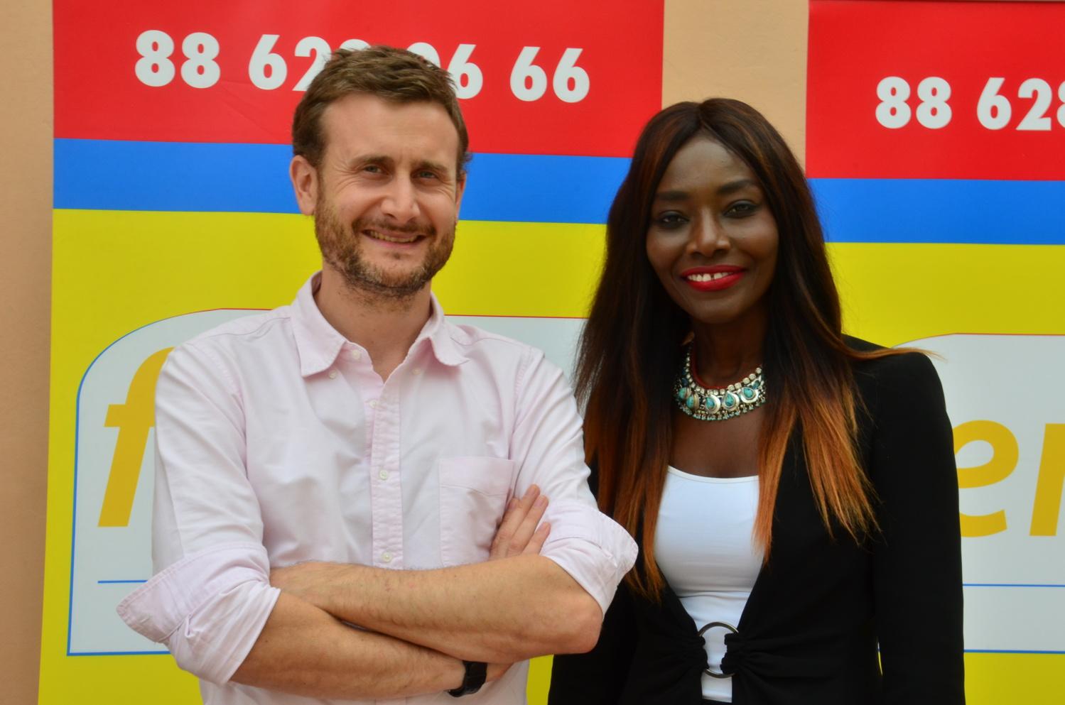 Visite de l'ambassadeur de la Grande Bretagne au Sénégal à la Radio Fem Fm