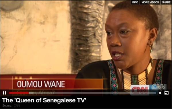 Oumou Wane, promotrice de la chaîne Africa 7 – Une remarquable « Entrepreuneuse d'idées »