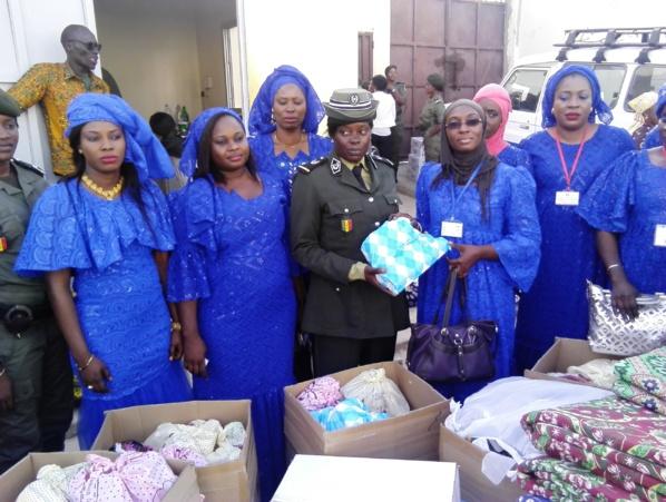 Célébration du 08 mars : Les femmes du ministère de la Justice offrent un don de 2 millions FCfa en matériels à la Mac de Liberté 6