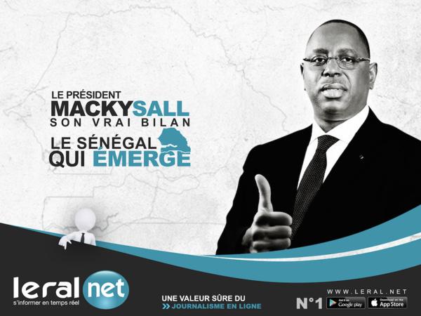 Interview Exclusive avec son Excellence Mr. Macky Sall le président de la république du sénégal