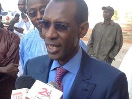 """Abdoulaye Daouda Diallo sur la faute sur les panneaux : """"Le Directeur général des élections me confie que ce ne sont pas ses affiches"""""""