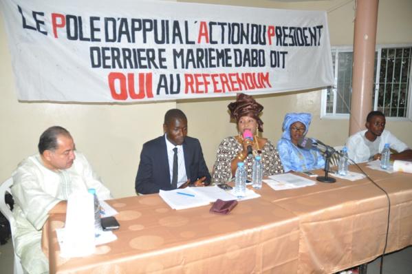 """Pour le triomphe du """"OUI"""" au référendum: Des ressortissants de Casamance résidant à Grand –Yoff mettent en place le PAP/Macky Sall"""