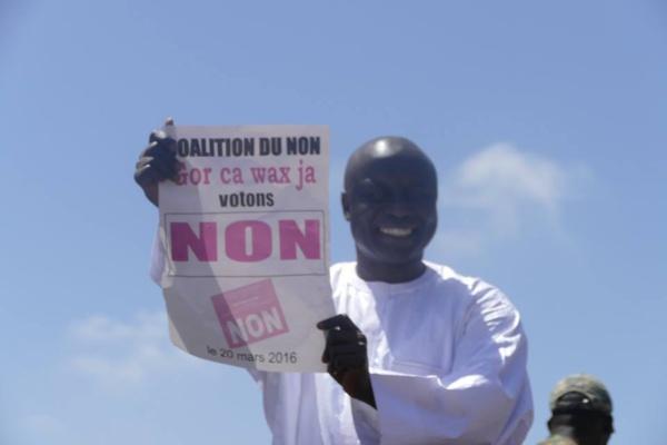 """Le camp du Non ce dimanche à Thiès - Idrissa Seck : """"Face à ce rendez-vous important de l'histoire Thiès votera Non !"""""""