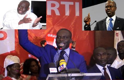 """Aliou Sall attaque Malick Gackou : """"Que les populations sachent que l'argent du Grand parti est sale, ça provient de pratiques amorales"""""""