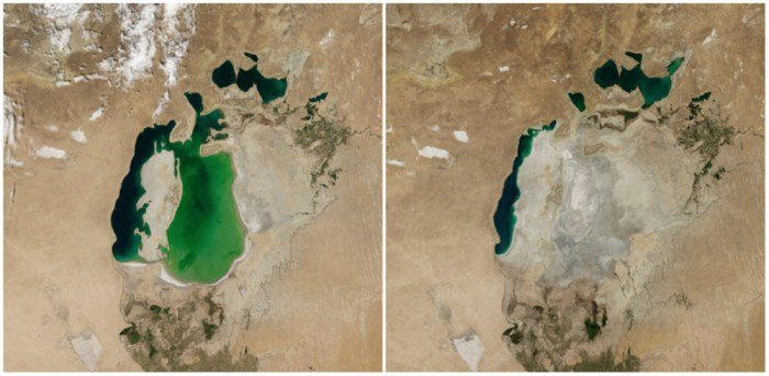 16 photos avant/après qui prouvent qu'il y a bien un changement climatique : il ne faut plus fermer les yeux !
