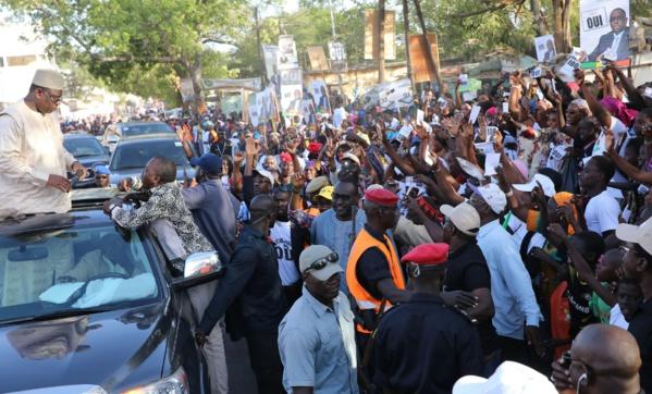 Campagne référendaire : Risque de télescopage entre Macky Sall et le front « Ñaani Bañna » à Saint-Louis, ce mardi