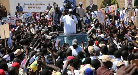 Campagne référendaire: Le Président Macky  à Kaolack, ce mercredi