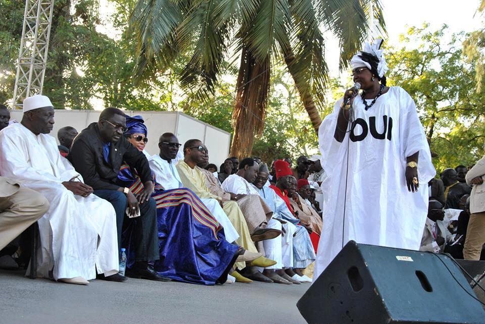 Maimouna Ndoye Seck et le mouvement Gungé Macky Sall (GMS) étendent les tentacules du « OUI »