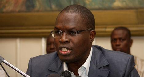 Khalifa Sall: « Laissons Ousmane Tanor Dieng faire son travail et partir »