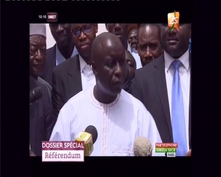 """Idrissa Seck : """"Macky Sall ne mérite même pas qu'on réponde à son appel"""""""