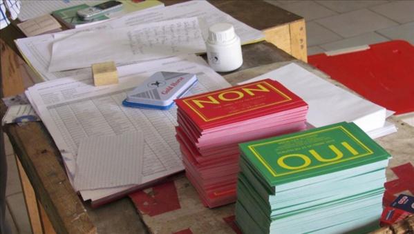 Darou Moukhty : Victoire du Non dans les 44 bureaux de vote