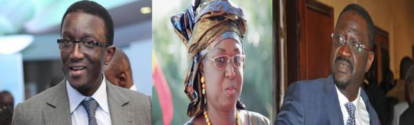 Amadou Bâ, Papa Abdoulaye Seck et Maïmouna Ndoye Seck : Ces novices en politique qui ont déjoué les pronostics