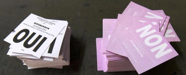 Avec un taux de 59,58%, les abstentionnistes remportent le scrutin référendaire