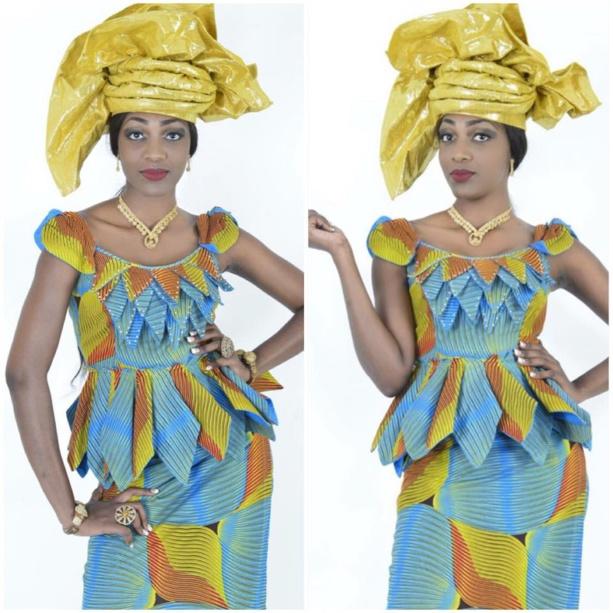 """Photos - Quand Maman Mbaye passe en mode """"yëre wolof"""", elle met tout le monde d'accord !"""