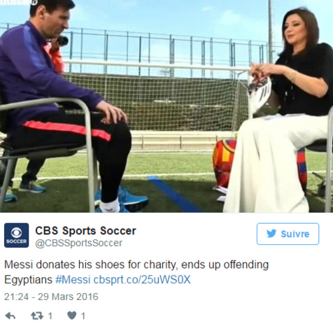 """Messi accusé d'avoir """"humilié"""" l'Egypte en voulant bien faire"""