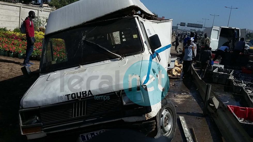Encore un accident à hauteur de l'école Mariama Niasse (images)