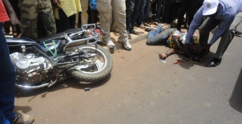 Thiès- Les motos Jakarta ont tué 15 des 41 personnes décédées par accident en 2015