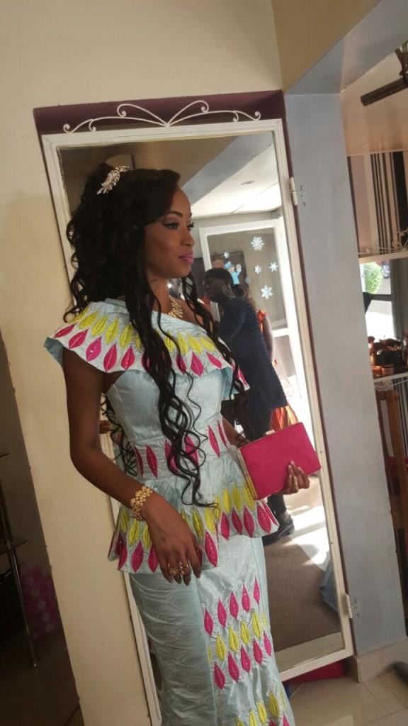 Photos: Les images sublimes du mariage de Anna Diouf, Miss Sénégal