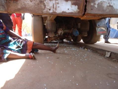 Drame : Un camion fou tue une dame à Kaolack