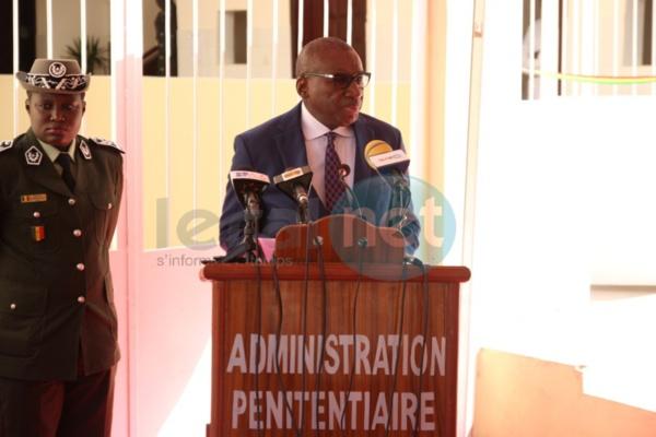 """Sidiky Kaba : """"Les repas collectifs des détenus vont bientôt être remplacés par..."""""""